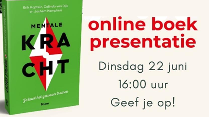 Online boekpresentatie Mentale Kracht