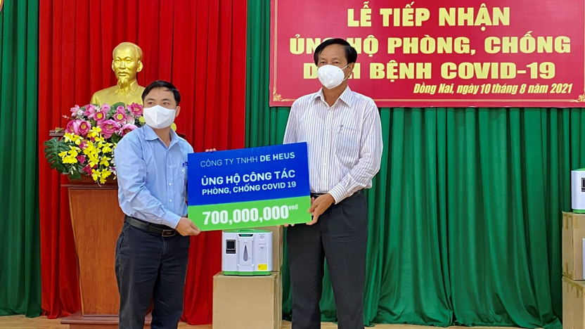 De Heus contributes 3,3 billion to the help the society fight the Covid-19 Pandemic