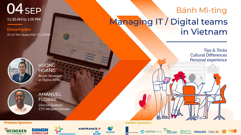 [Seminar] Bánh mì - ting: Managing IT/Digital teams in Vietnam