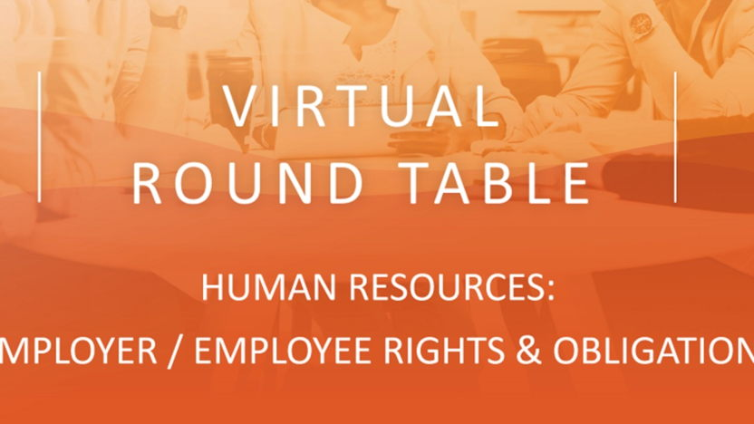 HHM Virtual round table: Human Resources