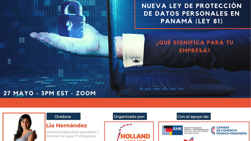 Webinar New Personal Data Protection Law in Panama