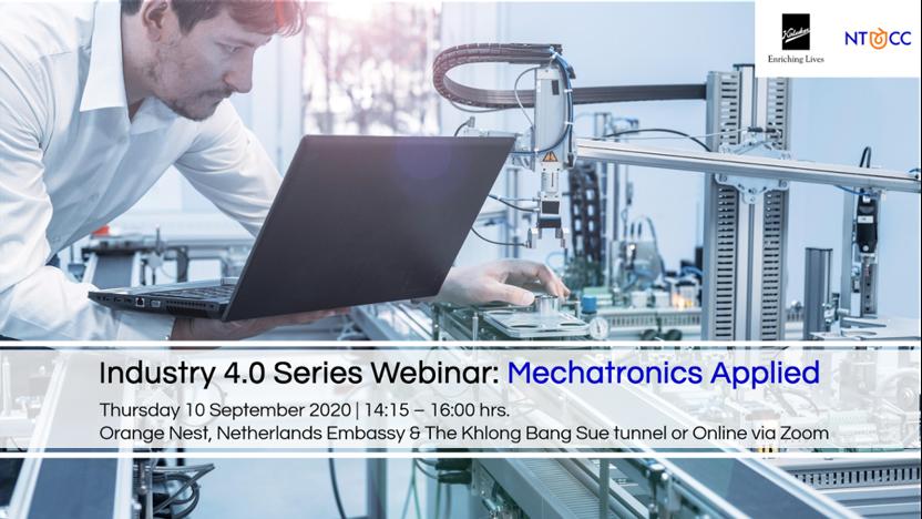 NTCC Industry 4.0 series webinar: Mechatronics Applied