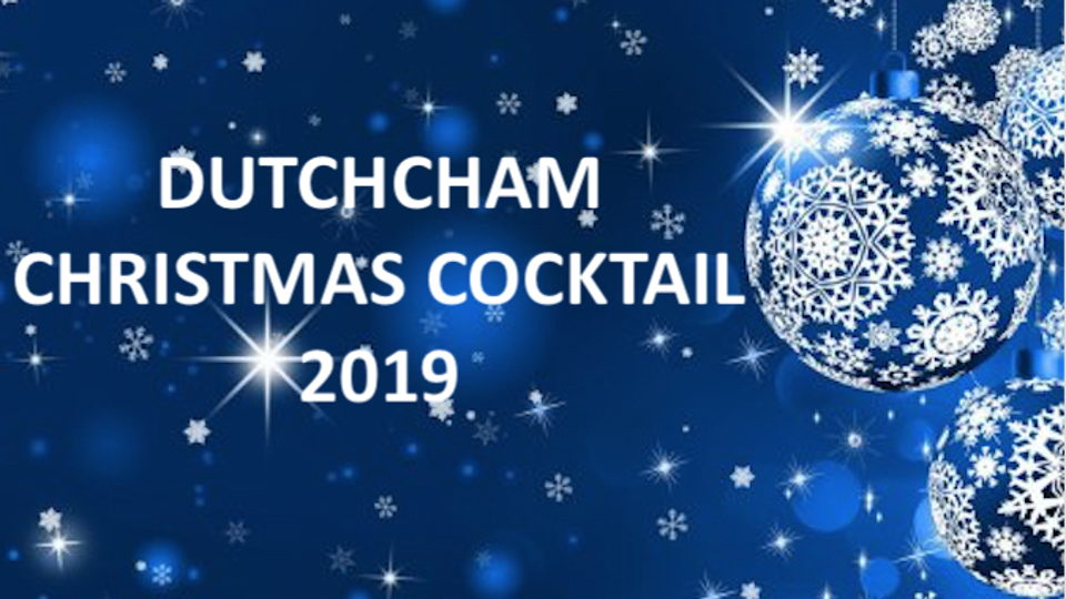 DutchCham Christmas Cocktail 2019