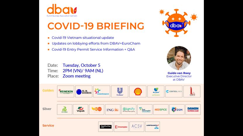 DBAV Covid-19 briefing -  October 5