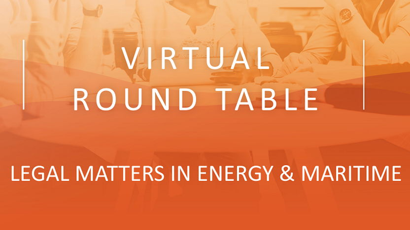 HHM Virtual round table legal matters in Energy & Maritime