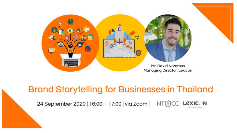 Webinar: Brand Storytelling for Businesses in Thailand