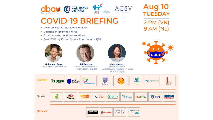 Covid-19 Briefing - August 10 session