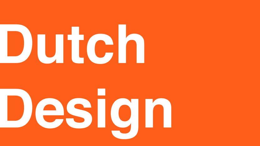 Dutch Design Pavilion Maison et Objet