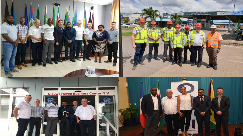 Guyana Trade Mission and visit to GIPEX