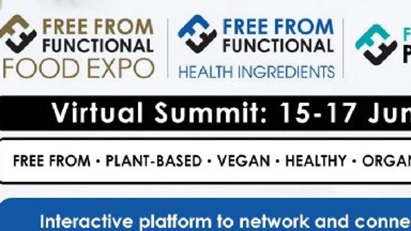 Webinars en matchmaking voorafgaand aan Free From Functional Food Expo 2021