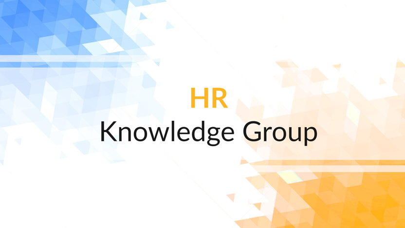 NPCC HR Knowledge Group