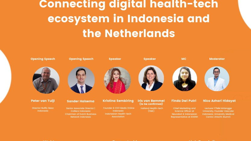 Webinar: Orange Talk # Startup Series: Connecting digital health-tech ecosystem in Indonesia and the Netherlands