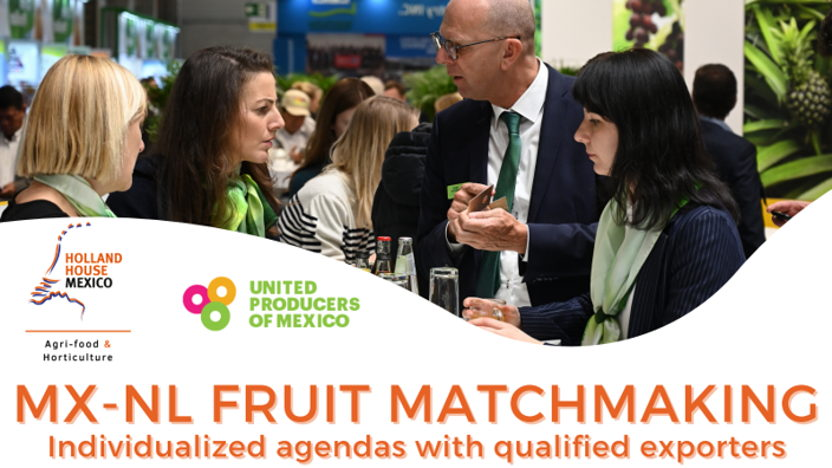 First edition of MX-NL Fruit Matchmaking Program big success