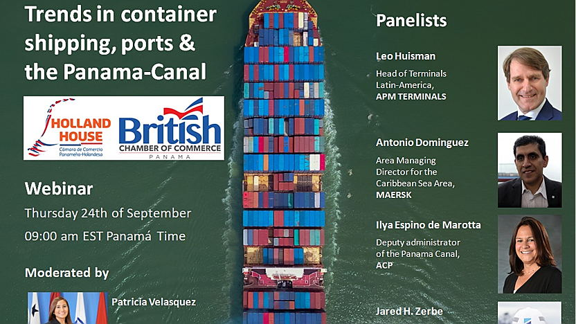 Trends in container shipping, ports & the Panama-Canal