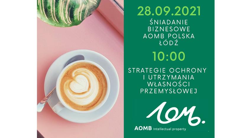 Business Breakfast with AOMB | Łódź