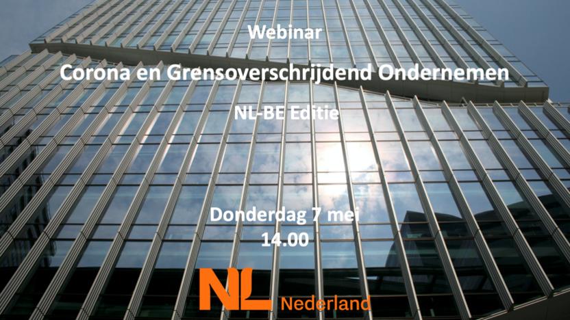Webinar: Corona en grensoverschrijdend ondernemen NL-BE edition