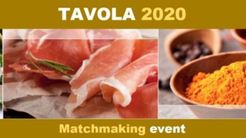 Matchmaking op vakbeurs Tavola 2020