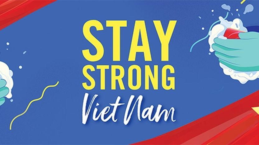Unilever Vietnam standing next to health professionals in virus battle