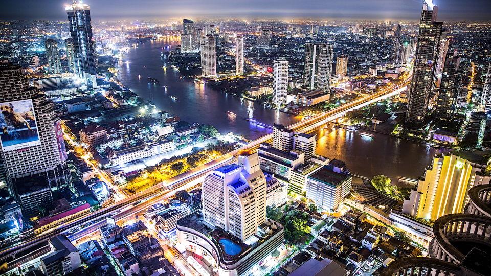 Trailer ondernemen in Bangkok