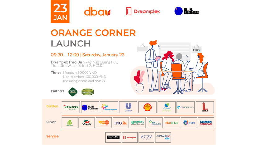 Launch of Co-working space with orange touch with Dreamplex and NLinBusiness