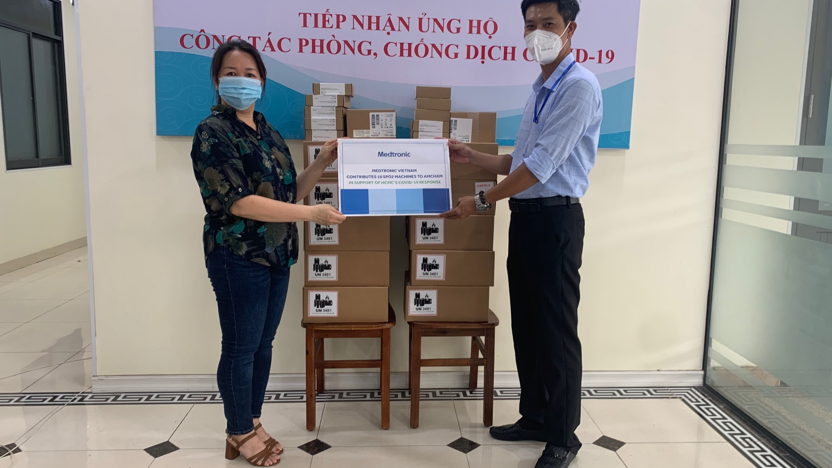 Medtronic supports Vietnam's frontline healthcare workers in the COVID-19 battle