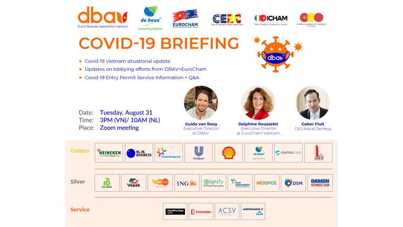 Covid-19 Briefing Aug 31 with Gabor Fluit from De Heus