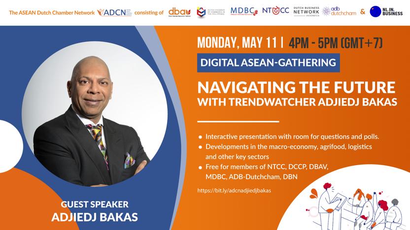 Navigating the Future - with trendwatcher Adjiedj Bakas