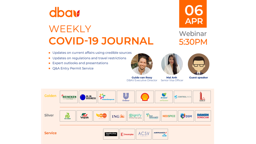 DBAV's Weekly Covid-19 Journal