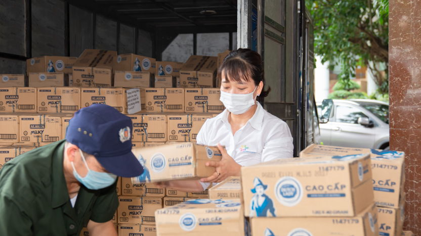 FrieslandCampina has contributed nearly 6 billion for the vaccine and in-kind donations during the 4th Wave