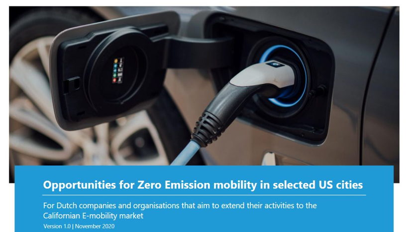 Opportunities for Zero Emission mobility in selected US cities