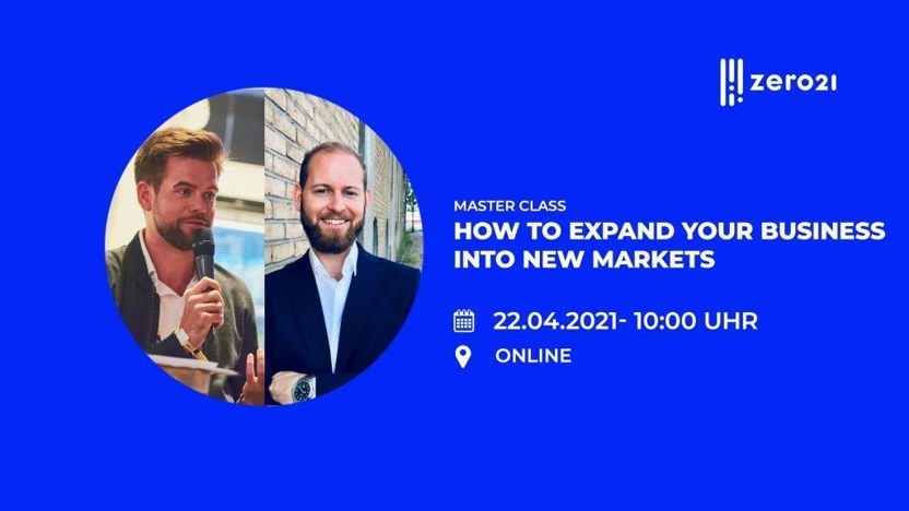 How to expand your business into new markets?