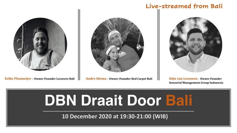 10/12/20  DBN Draait Door Bali