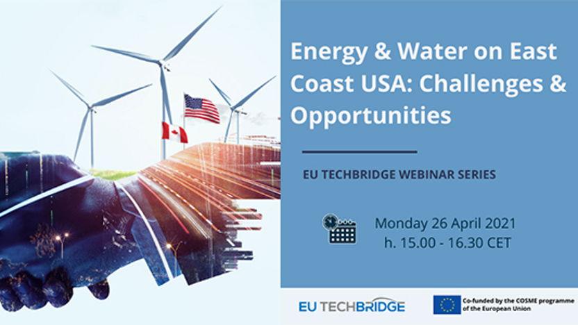 EU Techbridge webinar: Energie en water