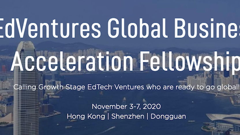 Global Edtech Startup Competition in Hong Kong