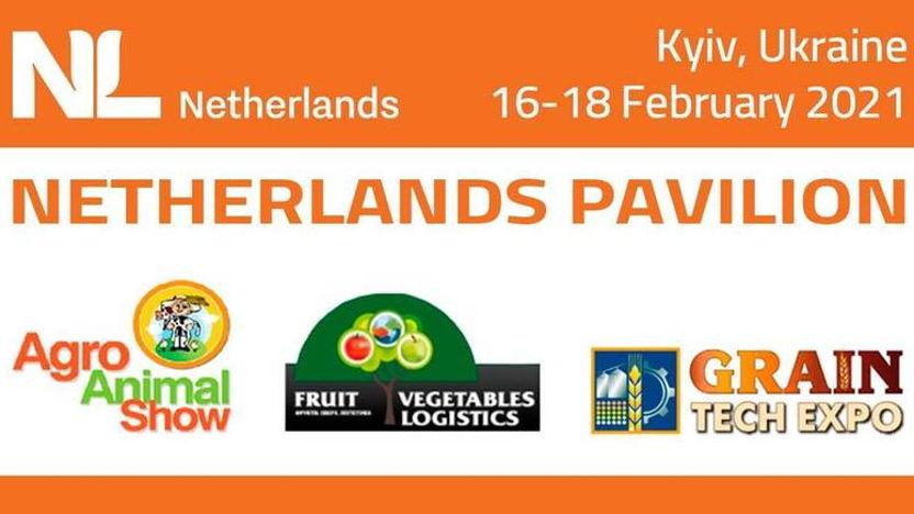 NL Pavilion at AgroSpring Exhibition