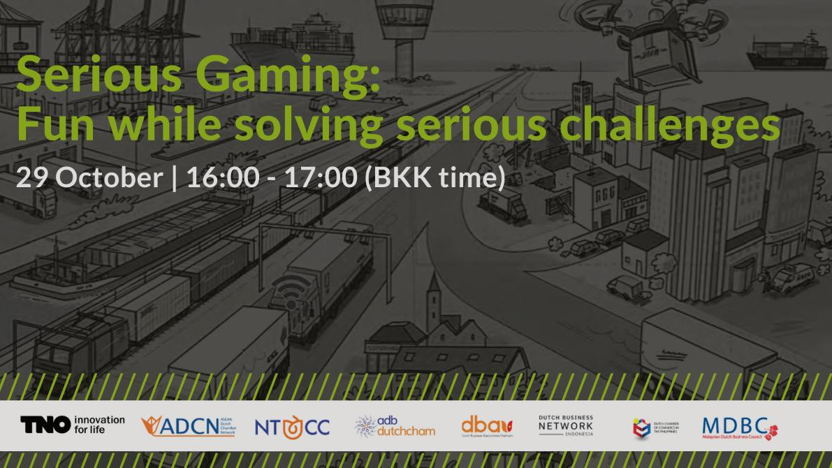 Webinar: Serious Gaming: Fun while solving serious challenges