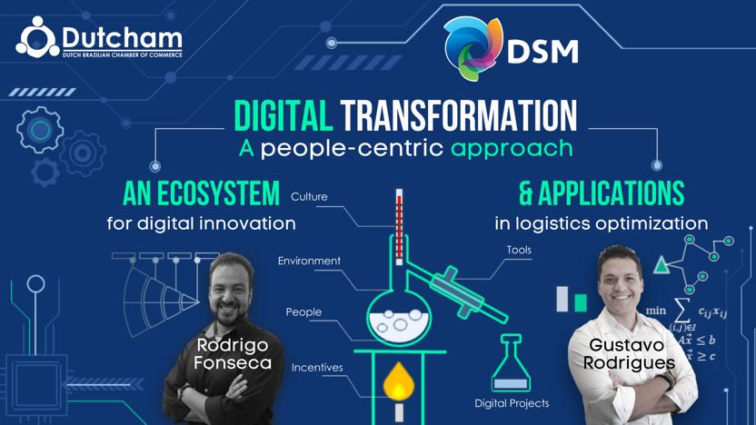 Dutcham Experts Talk - Digital Transformation by DSM