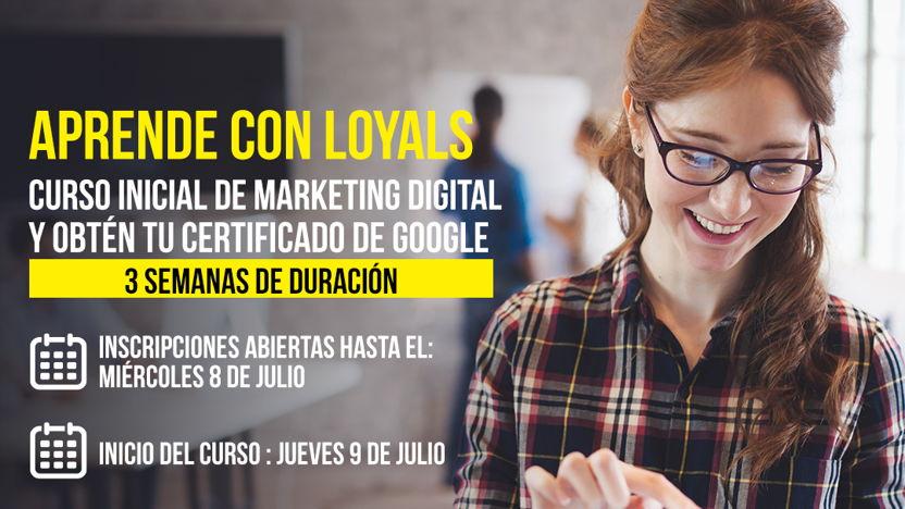 Curso Inicial de Marketing Digital ¨Garaje Digital de Google¨