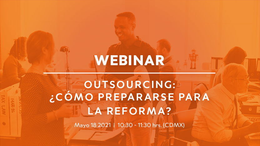 Webinar Outsourcing: How to Prepare for the Reform