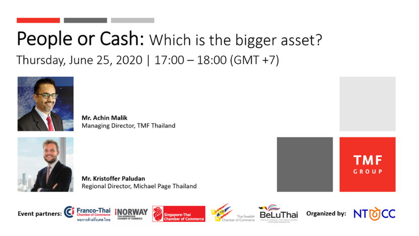 NTCC Webinar - People or Cash: Which is the bigger asset?