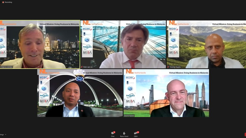 Succesvolle webinarserie 'Zakendoen in Zuidoost-Azië'