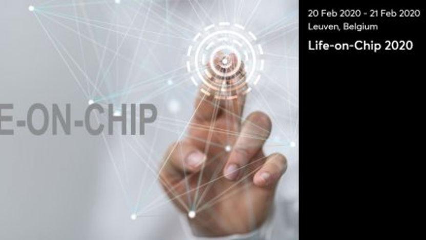 Matchmaking op internationale conferentie Life-on-chip