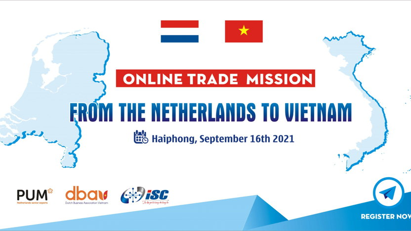 Online Trade Mission from the Netherlands to Vietnam (Haiphong)