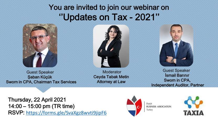 Updates on Tax - 2021