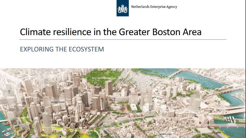 Climate resilience in the Greater Boston Area