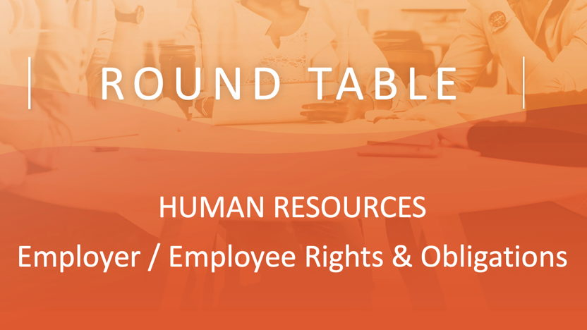 HHM Virtual Round Table