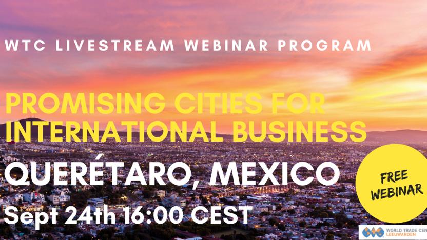 Webinar Promising City: Querétaro