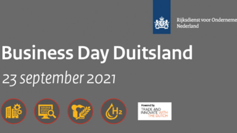 Business Day Duitsland 2021 - blik op innovatie
