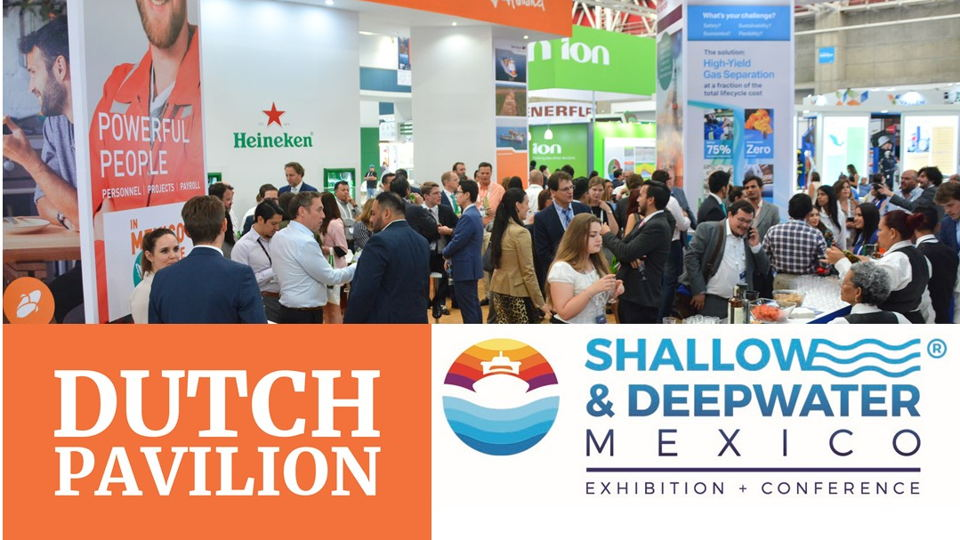 Dutch Pavilion at Shallow and Deepwater Expo 2020