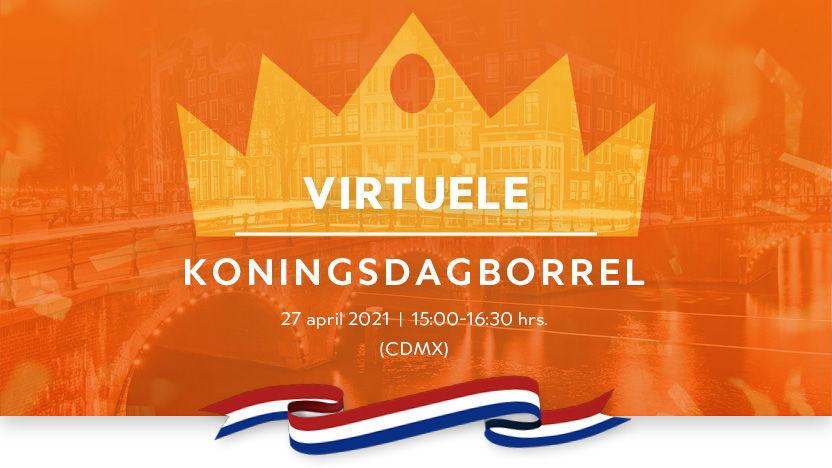 Virtuele Koningsdagborrel 2021
